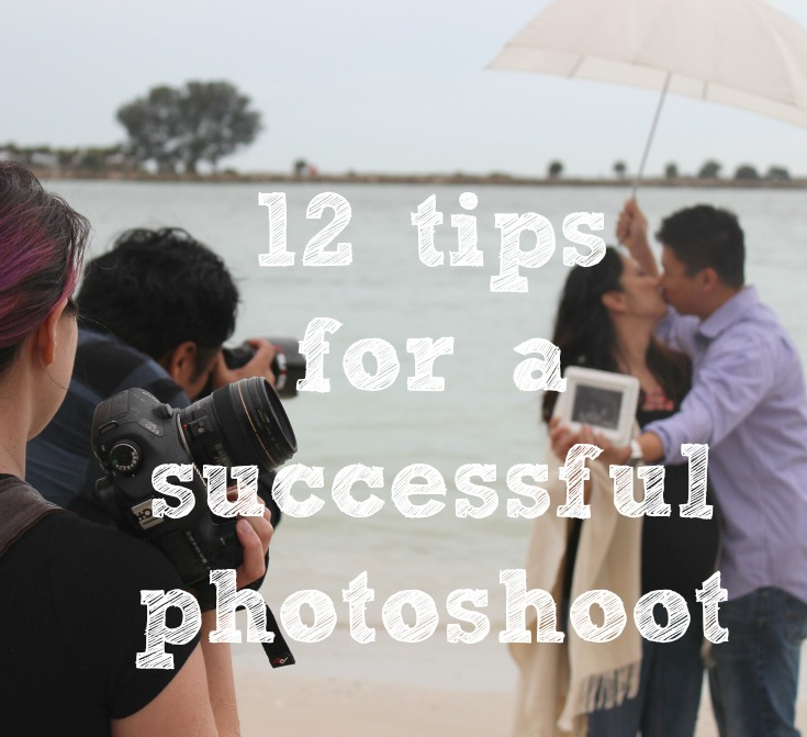 12 tips for a photoshoot