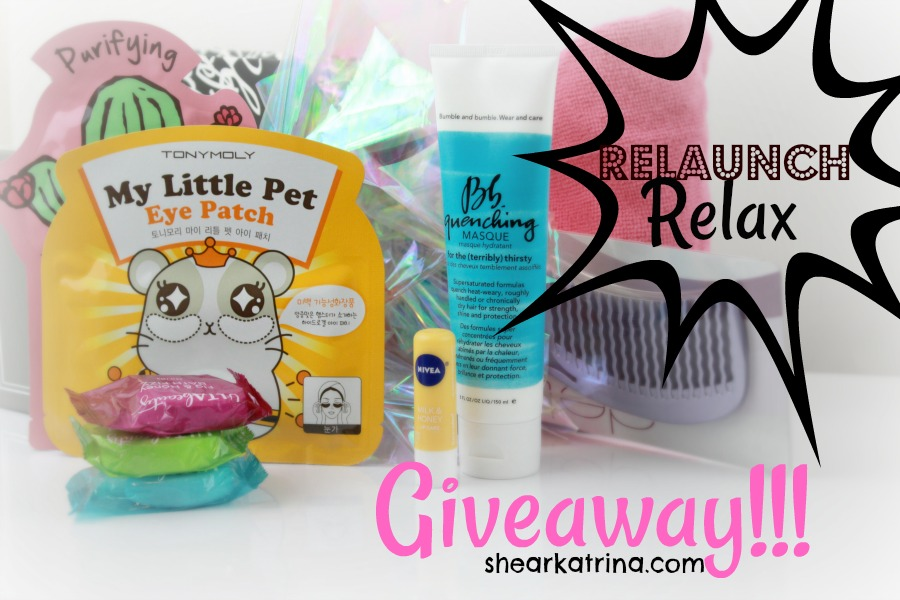 relaunch relax giveaway